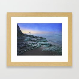 """""""Evening view"""" Framed Art Print"""