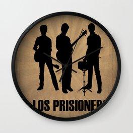 Los Prisioneros Wall Clock