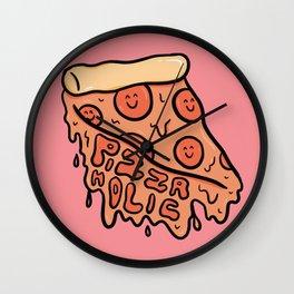 Pizza Holic Wall Clock
