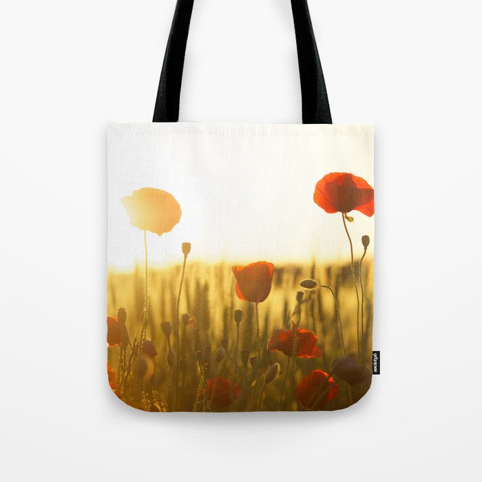 Sunset tulipe Tote Bag