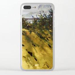 Vent de mer Clear iPhone Case
