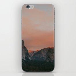 Yosemite National Park Sunset iPhone Skin