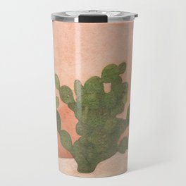 Strong Desert Cactus Travel Mug