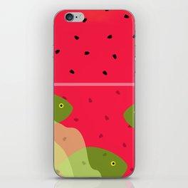 Watermelon Underwater Scene iPhone Skin