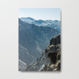 Colca Vertical Metal Print