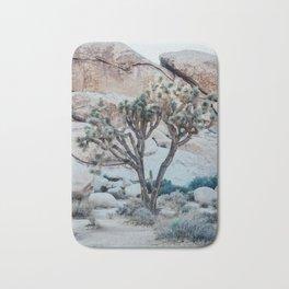 Lonely Tree Joshua Tree California Bath Mat