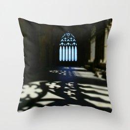 Catedral de Santa Maria de la Seu Vella Throw Pillow