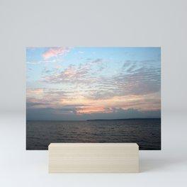 Early Morning Sunrise over Lake Huron Mini Art Print