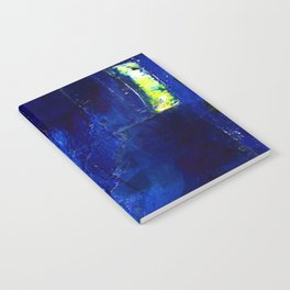 Into The Blue No.3a by Kathy Morton Stanion Notebook