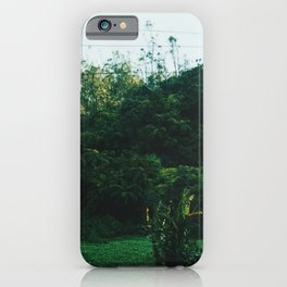 Sri Lankan Train ride iPhone Case