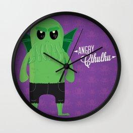 Angry Cthulhu Wall Clock