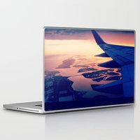 plane Laptop & iPad Skins featuring Plane by Leah Galant