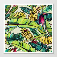 Local Bananas Canvas Print