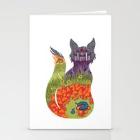 wonderland Stationery Cards featuring Wonderland by Heather Searles