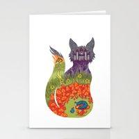 alice wonderland Stationery Cards featuring Wonderland by Heather Searles