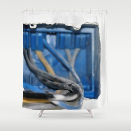 Wire Box Shower Curtain