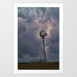 Wind and Weather Art Print