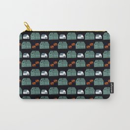 Barn Pattern Carry-All Pouch