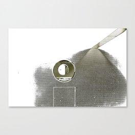 paris metro circles Canvas Print