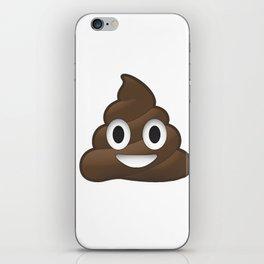 Whatsapp - Poop iPhone Skin