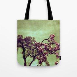 Redscale Blossom Tote Bag