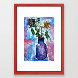 Flowers From Boys I Liked in High School Framed Art Print