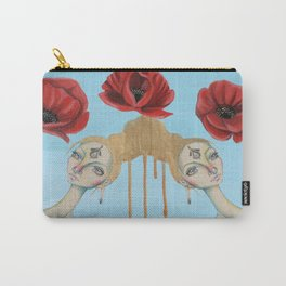 Poppies of Enlightenment Carry-All Pouch