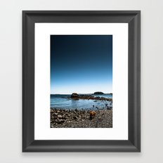 Living On A Blue Marble Framed Art Print