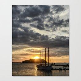 Sunrise Bar Harbor Maine Canvas Print