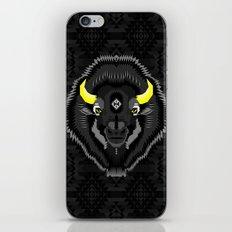 Geometric Bison iPhone & iPod Skin