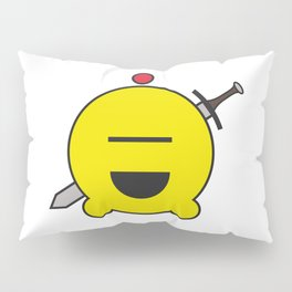 allien emoji, warrior, yellow master Pillow Sham