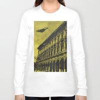 milan Long Sleeve T-shirts featuring Milan 1 by Anand Brai