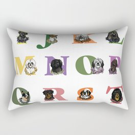 Alphabuddies Rectangular Pillow