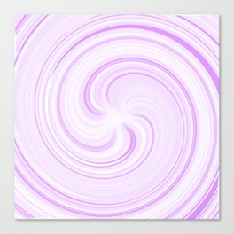 Boysenberry Sundae Swirl Canvas Print
