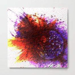Solar Explosion Metal Print