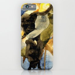 Charles Demuth - Lula and Alva Schon - Digital Remastered Edition iPhone Case