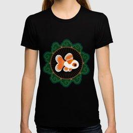 Butterfly goldfish - white T-shirt