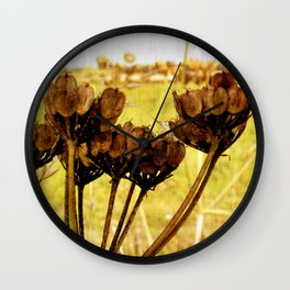 End of summer is near Wall Clock