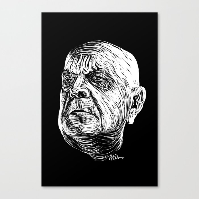 Sibelius Canvas Print