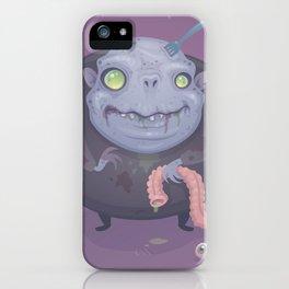 Blob Zombie iPhone Case