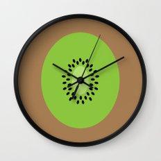 #3 Kiwi Fruit Wall Clock