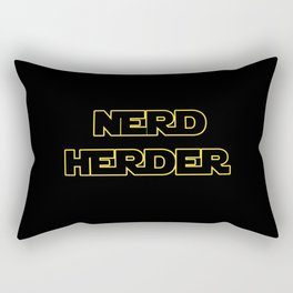 Nerd Herder Rectangular Pillow