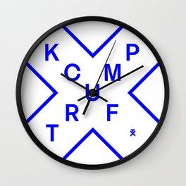 KCUF TRUMP Wall Clock