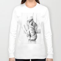 ballet Long Sleeve T-shirts featuring Ballet by Andreas Derebucha