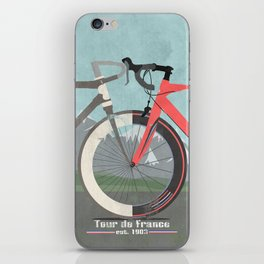 Tour De France Bicycle iPhone Skin