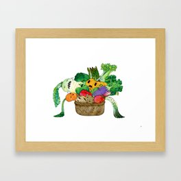 Lachanophobia Framed Art Print