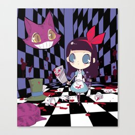 Alice in Terrorland Canvas Print