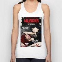 dramatical murder Tank Tops featuring MURDER STORIES by Thomas B.- Rock Artwork