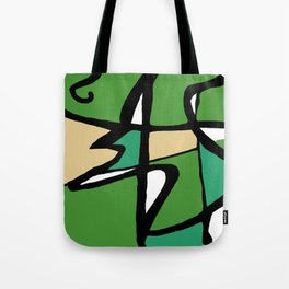 Abstract Painting Design - 8 Tote Bag