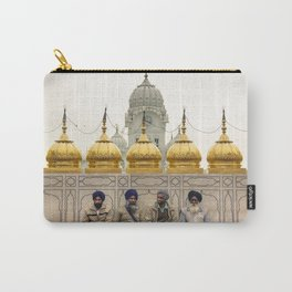Men golden temple Carry-All Pouch
